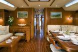 Crewed sailing yacht